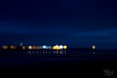 No Bokeh Reflection? (KeyGripBoy) Tags: nightphotography sky reflections dark scotland scenery nightlights bokeh ayrshire ayrshirecoast canonefs1755 ardrossanharbour afterdar