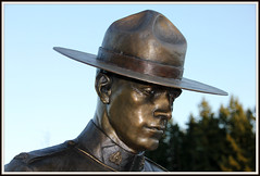 RCMP Memorial (Alaidh...wtf happened??) Tags: rcmp mounties grc royalcanadianmountedpolice gendarmerieroyaleducanada