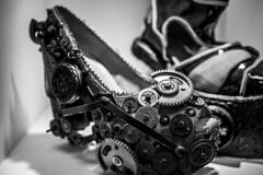 Cogwheel Shoes (francisling) Tags: fashion festival zeiss 35mm shoe sony international heels designs kuala misf malaysian lumpur concepts innovations   pwtc    rx1   dscrx1 misf2013