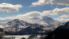Lakeland Hills (Tony Worrall Foto) Tags: wood uk winter england sky white lake snow cold tree ice water beauty clouds season landscape spring nice tour natural snowy seasonal north lakedistrict scenic natura scene tourist freeze cumbria icy chill cumberland thelakes 2013tonyworrall