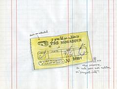 essaouira > sidi al mokhtar (lapin barcelona) Tags: car sketch vintagecar sketchbook morocco maroc usk lapin croquis travelbook urbansketchers
