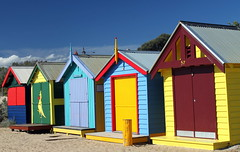 Brighton Beach Huts (Alan1954) Tags: holiday brighton colours australia melbourne victoria colourful beachhuts 2010 artlegacy bestcapturesaoi