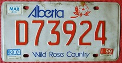 ALBERTA 1999-2000 ---DEALER LICENSE PLATE (woody1778a) Tags: world auto canada cars car sign vintage edmonton photos tag woody plate tags licenseplate collection number photographs alberta license plates foreign numberplate licenseplates numberplates licenses cartag carplate carplates autotags cartags autotag foreigns pl8s worldplates worldplate foreignplates platetag albertahistory