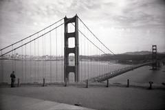 The Bridge (scottylib) Tags: sanfrancisco blackandwhite film 35mm lomo 3200 ilford madlove scottylib scottyliberatore