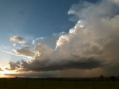 Tempestade no anoitecer (IgorCamacho) Tags: sunset brazil storm nature paran rain brasil natureza chuva southern sul anoitecer cumulonimbus tempestade