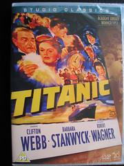 Titanic DVD 1953. USA. (Jimmy Big Potatoes) Tags: films movies dvds vhs rmstitanic