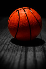 """Day 56. """"It looks likes it's time to BOUNCE!!: (Nora Greer) Tags: stilllife color macro sports basketball closeup toy toys mini textures irony ironic myview macrolens toyphotography colorpop creativephotocafe"""