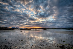 Horizon In Flames - Free HDR Tutorial - EXPLORE #06! (tommyscapes) Tags: uk sunset sky west reflection skye beach composite clouds photoshop canon landscape fire photo top horizon free tips ten editing efs 1022mm hdr tutorial topaz adjust arisaig photomatix f3545 enhancing 3exp colorefexpro canon7d tommyscapes