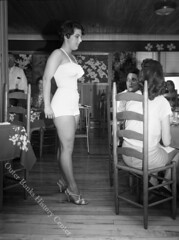 Fashion Show - Aycock Brown Collection 003 (Outer Banks History Center) Tags: bathingsuits fashionshows nagsheadnc
