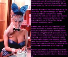 Bunny (Jenni Makepeace) Tags: fetish transformation magic tgirl sissy caption captions mtf tgcaptions tgcaption