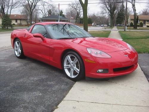 Joe's Corvette