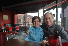 lunch in fountain square (trish.brewer) Tags: family triangle indianapolis visit