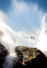 Splash (Kalahari kid) Tags: ocean rocks wave portmacquarie flynnsbeach
