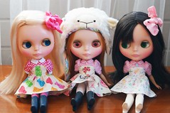 Charlie, Zara and Billie