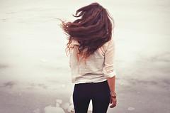 Anna (Geta Bagheta) Tags: winter woman cold ice girl female wind expressive romantic conceptual emotive