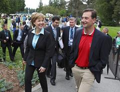 Premier/première ministre Clark, Premier/premier ministre Ghiz