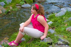 Little Creek (ReillyMarie) Tags: smile face fashion print virginia model teen teenager reilly runway 2012 plussize 2011 fullfigured teenmodel photogrenic reillymarie