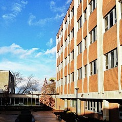 Campus actually looks decent after the rain #wlu (-gunjan) Tags: square university waterloo squareformat laurier wlu iphone wilfridlaurieruniversity wilfridlaurier iphoneography instagramapp uploaded:by=instagram