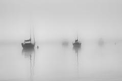Foggy Morning... (Chris Gaziano) Tags: fog sailboat lakemichigan milwaukee wisconsin