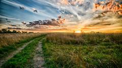 Clark County Sunset_3489 (refmo) Tags: sunset sky clark county kentucky winchester clouds sun
