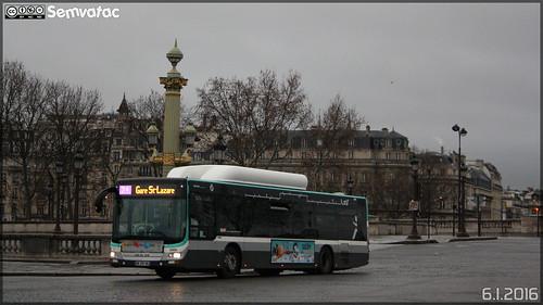 Man Lion's City CNG - RATP (Régie Autonome des Transports Parisiens) / STIF (Syndicat des Transports d'Île-de-France) n°5469