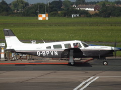 G-BPVN Piper Turbo Saratoga 32 (Aircaft @ Gloucestershire Airport By James) Tags: gloucestershire airport gbpvn piper turbo saratoga 32 egbj james lloyds
