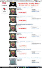 AMAZON-COUNTERFEIT-PRODUCTS - Stealing Income from small artists and giving it to China (artistsagainstamazon) Tags: amazon counterfeitproducts counterfeits knockoffs copyrightinfringement jeffbezos chinesesellers intellectualproperty amazoncom counterfeitgoods counterfeit amazonpillows amazoniphonecases amazonshowercurtains amazonelectronics starvingartists amazontshirts amazonsucks