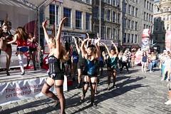 Edinburgh Fringe Festiva 2016 - Cast Of Cabaret (6) (Royan@Flickr) Tags: edinburgh fringe festival 2016 royal mile high street musical cast cabaret