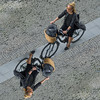 bicycle misunderstanding (Seerin Kama) Tags: street bicycle woman people outdoor escheresk escheresque