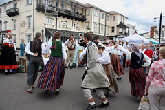 Dance Displays @ Sidmouth Folk Week (2016) 28 - Folk Dance Group Dandari (KM's Live Music shots) Tags: worldmusic latvia folkdancegroupdandari dancers sidmouthfolkweek esplanadesidmouth