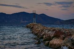 A small lighthouse (theseustroizinian) Tags: lighthouse troizinia kalloni sea seaside seascape village greece hellas greek hellenic peloponnese ngc
