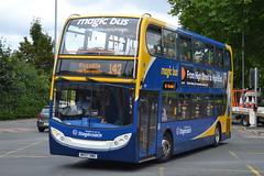 Stagecoach Magic Bus AD Enviro 400 19199 NK57DWD - East Didsbury (dwb transport photos) Tags: stagecoach magicbus alexander dennis enviro bus decker 19199 nk57dwd eastdidsbury manchester