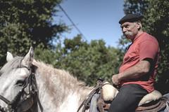 Man with horse (Mathieu Thauvin) Tags: man horse cavalier cheval amiti friendship camargue free wild france libre libert