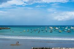 San Juan del Sur (E. Aguedo) Tags: beach boats clouds sky blue sand san juan del sur nicaragua central america