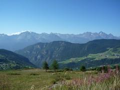 Valtournenche panorama (SoniaM (Italian teacher)) Tags: italia italy valledaosta valdaosta chamois montagna montagne mountain mountains natura nature landscape panorama view