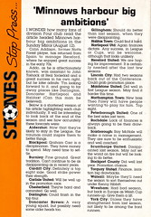 Maidstone United vs Northampton Town - 1990 - Page 24 (The Sky Strikers) Tags: maidstone united northampton town barclays league division four stones official match programme one pound