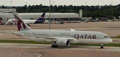 Boeing 787: 38345 A7-BDA 787-8 Qatar Airways Manchester International Airport (emdjt42) Tags: a7bda boeing787 qatar manchesterairport