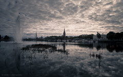 Cloudy Sky (samiKoo) Tags: clouds cloudy city cityscape cityview reflection reflections sky skyline urban water river photography photo photograph autumn fall naturallight light canon 6d 24105mml