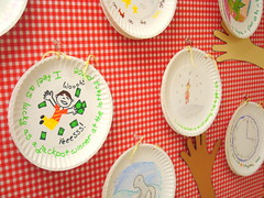 Paper Plate Books (seesuestitch) Tags: education classroom teaching bulletinboards classroomideas