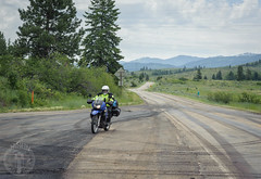 Highway 71 (Trail Image) Tags: highway ben idaho motorcycle badmemory highway71 kawasakiklr650