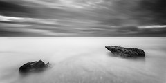...Two (540 Seconds) (DavidFrutos) Tags: longexposure sea bw costa seascape beach water monochrome rock clouds sunrise landscape monocromo coast three mar agua rocks 21 playa paisaje panoramic bn alicante amanecer filter le lee nubes tres canondslr roca rocas panormica filtro largaexposicin filtros neutraldensity canon1740mm gnd8 graduatedneutraldensity densidadneutra davidfrutos 5dmarkii niksilverefexpro leebigstopper singhraygallenrowellnd3ss
