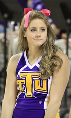 TN Tech Cheerleader (Paul Robbins - BNA-Photo) Tags: cheerleaders cheer cheerleading goldeneagles ttu collegecheerleader tntech collegecheer