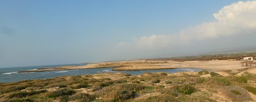 Habonim-Dor Nature Reservation - many sea inlets