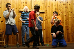 IMG_2819 (ericmuhr) Tags: camp oregon coast weekend youthgroup lipsync middleschool juniorhigh twinrocks newbergfriends juniorhighjamboree