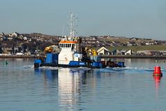 Voe Viking (MBDGE) Tags: sea orkney viking stromness workboat voe multicat