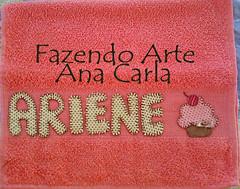 toalhinha ariene (Ana Carla_Fazendo Arte) Tags: baby bebê patchwork menina menino rosto toalhinha toalharosta