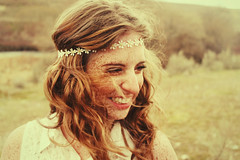 She wore daisy's in her hair. (Positively lifted.) Tags: trees wild urban cold love water girl beautiful smile field grass smiling vintage river skinny washington movement model perfect colorful doll bright wind wildlife indian teeth hipster longhair curls windy blurred blanket messy spinning hippie freckles grainy bushes headband daisys tumblr