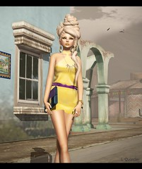Fleshtone  MariahTieNeckDress (Lila is confused by this layout) Tags: candydoll fleshtone gachas vanityhair glowstudios pxlcreations lagyo colormehof labelmotion bensbeauty thearcadeevents limitedbazar