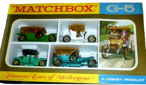 Matchbox Yesteruear Gift set