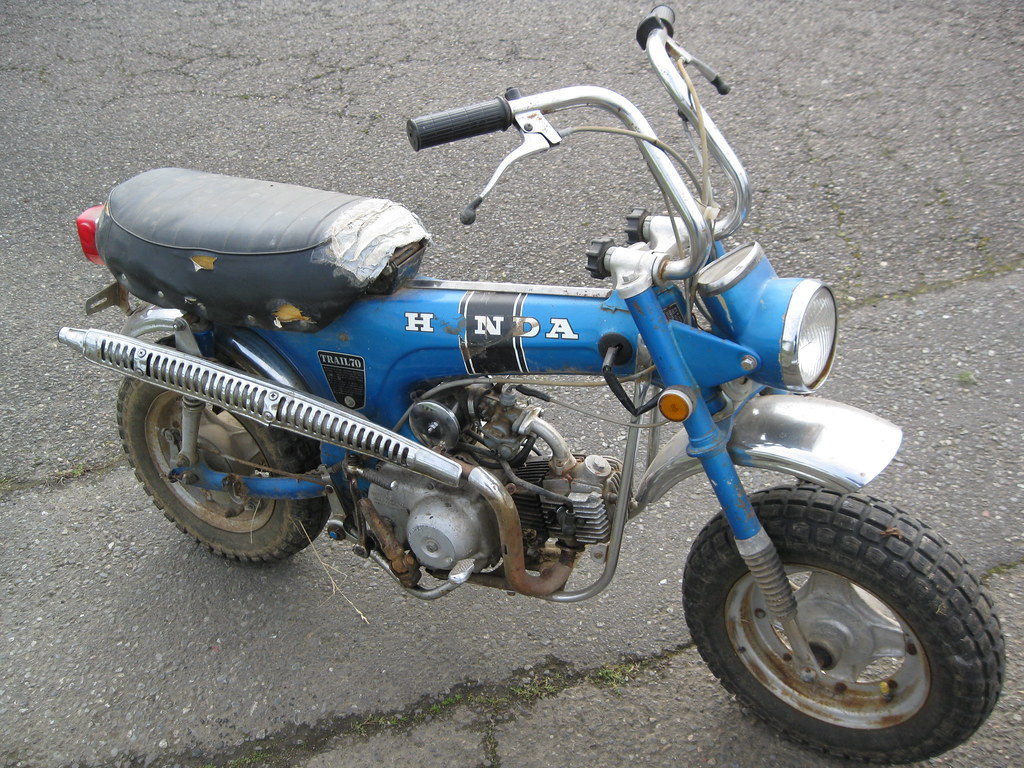 The Worlds Best Photos Of Ct70 Flickr Hive Mind 1970 Honda Blue Mini Trail 70 Frugalista Tags 1971 71 Motorbike Motorcycle Minibike Freetibet